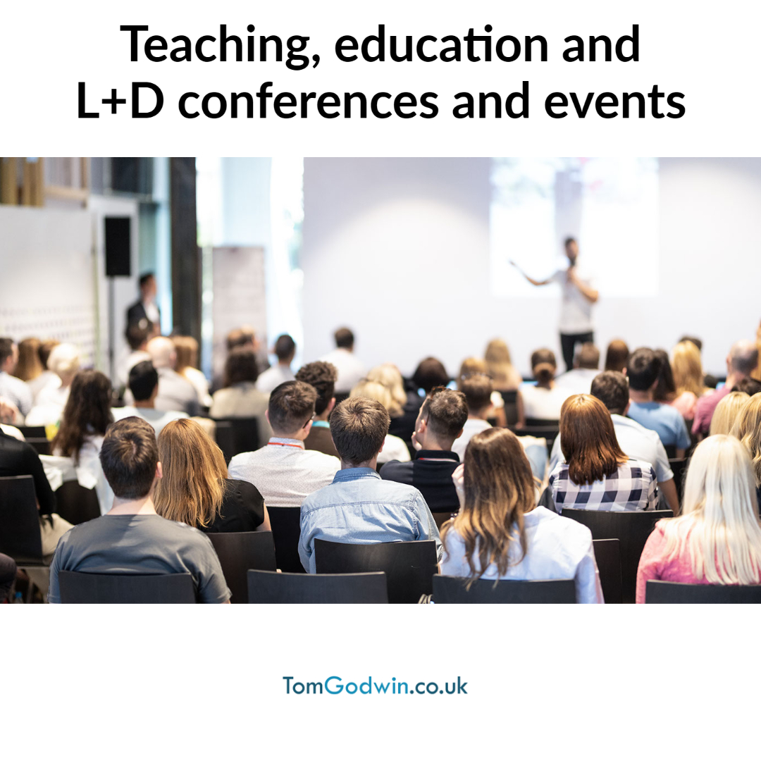 Education teaching events and conferences